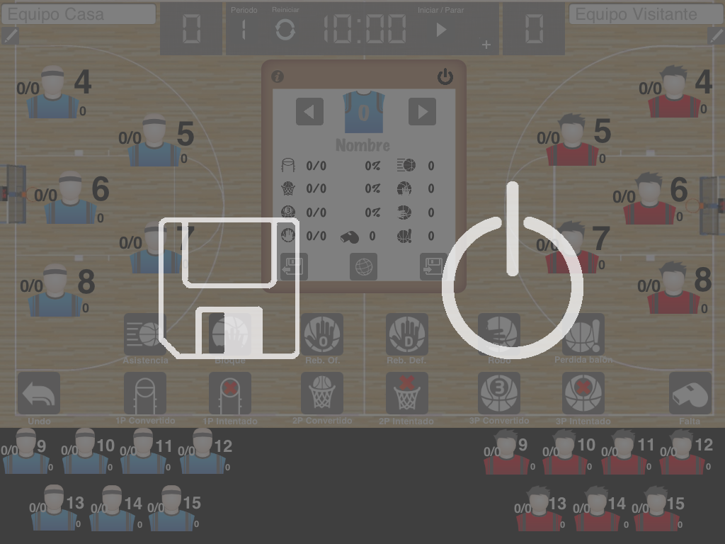 LetsBasket+ NewVersion – Edit Teams